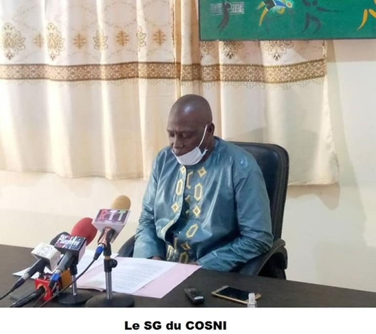 Message de vœux du COSNI au Mouvement Olympique et Sportif